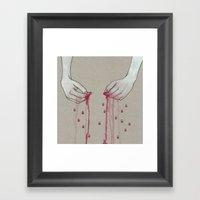 Song For Pomegranates Framed Art Print