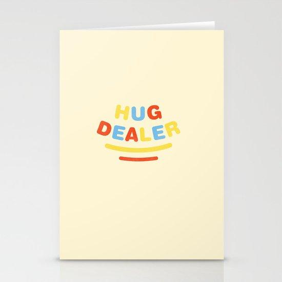 Hug Dealer Stationery Card