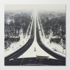first we take manhatten than we take berlin II - winter Canvas Print
