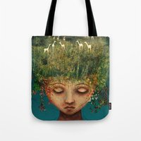 Quietly Wild Tote Bag