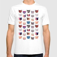 C.C. iii Mens Fitted Tee White SMALL