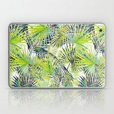 Tropical Frond Pattern Laptop & iPad Skin