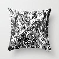 Obsius Throw Pillow