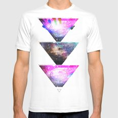 We Are All Stars Mens Fitted Tee White SMALL