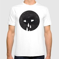 weep Mens Fitted Tee White SMALL