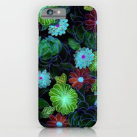 iPhone & iPod Case featuring Oriental blossom (night version) by Federico Faggion
