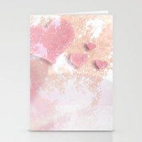 Digital-Art Hearts & Lil… Stationery Cards