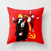 The Communist Party (var… Throw Pillow