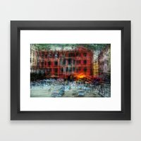 All About Italy. Piece 18 - Vernazza Spirit Framed Art Print