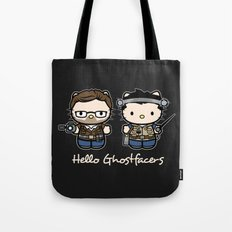 Hello Ghostfacers Tote Bag