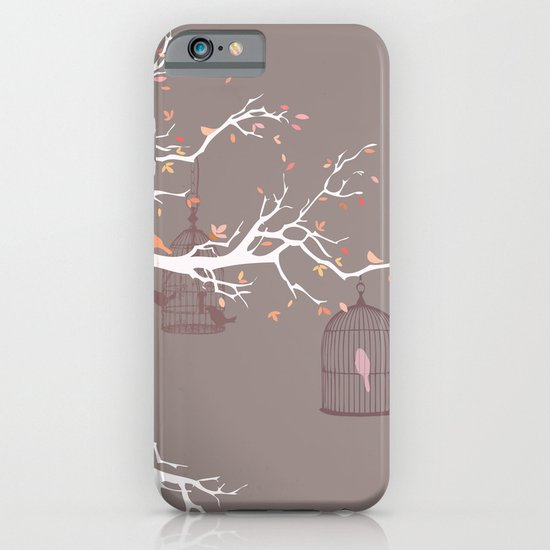 Irony of Birds iPhone & iPod Case