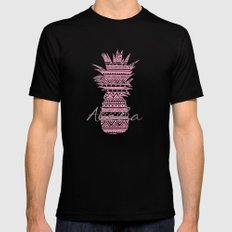 Pink Paradise  Mens Fitted Tee SMALL Black