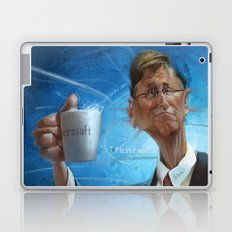 Bill Gates Laptop & iPad Skin