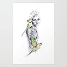 Paradise no.1 Art Print