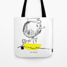 A man in a boat Tote Bag