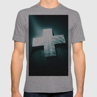clinically dead Mens Fitted Tee Athletic Grey SMALL