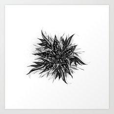 GR1N-FL0W3R (Grin Flower) Art Print