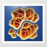 Necrotic Radimafungle Mo… Art Print
