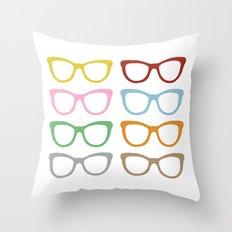 Glasses #4 Throw Pillow