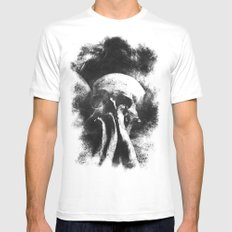 Once Were Warriors IV. SMALL White Mens Fitted Tee
