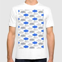 Rainy Days Mens Fitted Tee White SMALL