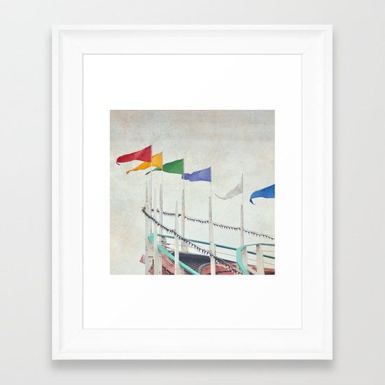 High Flyers Framed Art Print