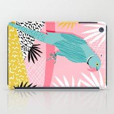 Doin' It - Blue India Ri… iPad Case