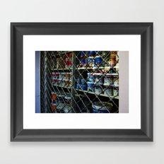 Paint shop Framed Art Print