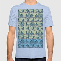 Squirrels! Mens Fitted Tee Athletic Blue SMALL