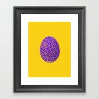 Happy Easter Framed Art Print
