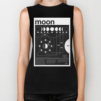 Phases Of The Moon Infog… Biker Tank