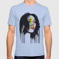Leia Mens Fitted Tee Athletic Blue SMALL