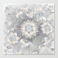 Shabby Flowers #2 Canvas Print