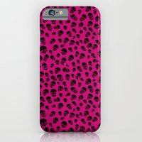 Death Lepard Pink iPhone 6 Slim Case