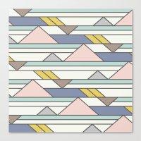 The New Geometric Canvas Print