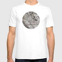 Planetary Bodies - Tree Mens Fitted Tee White SMALL