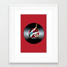 Geisha: Mistress of Rock Framed Art Print