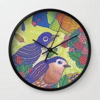 Birds2 Wall Clock