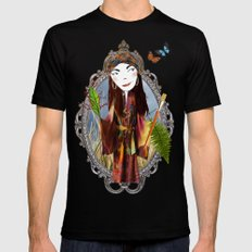 Our Lady of the Prairie Black Mens Fitted Tee SMALL