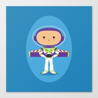 Space Ranger Canvas Print