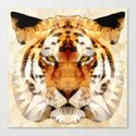 abstract tiger Canvas Print