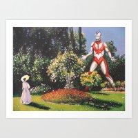 Ultra Garden Art Print