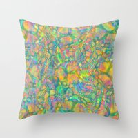 Verdant Throw Pillow