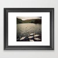 loch Framed Art Print