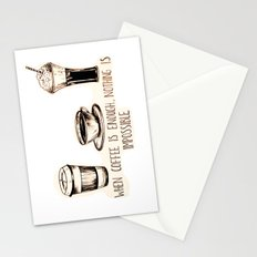 Coffee empowerment  Stationery Cards