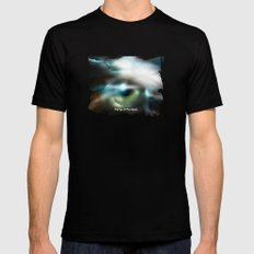 The Eye Of The Storm SMALL Black Mens Fitted Tee