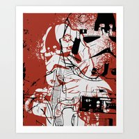 AT-AT Driver And Navigat… Art Print