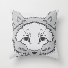 Pirate Fox Throw Pillow