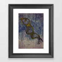 Helix Framed Art Print