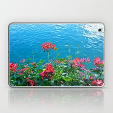 Chapel Bridge Flowers Laptop & iPad Skin